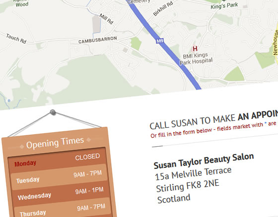 Susan Taylor Beauty Salon